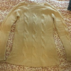 Lovely soft cream colored sweater